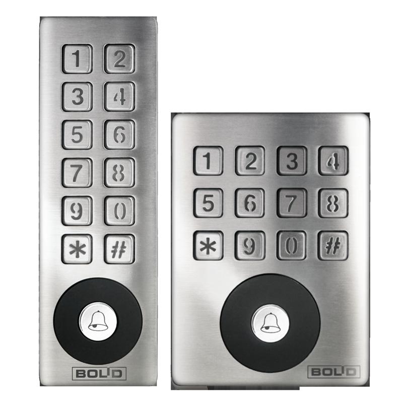 Автономные контроллеры со встроенными бесконтактным считывателем и клавиатурой PROXY-KEYAV, KEYAH,KEYMH