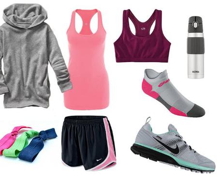 Спортивная обувь и одежда