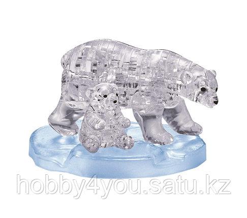 3D головоломка Два белых медведя, фото 2