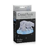 3D головоломка Два белых медведя