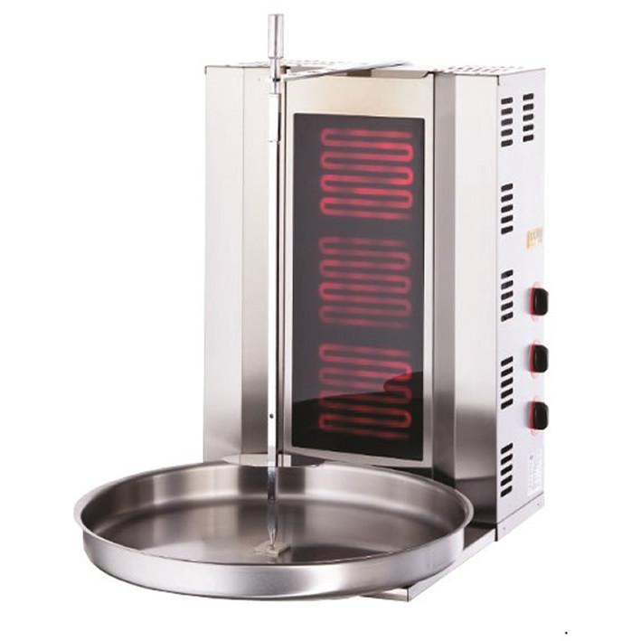 Аппарат донер кебаб 2 горелки, промышленный электрический. Аппарат для шаурмы, Аппарат для шавермы