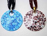 Ожерелье с кулоном из муранского стекла, Италия, фото 2
