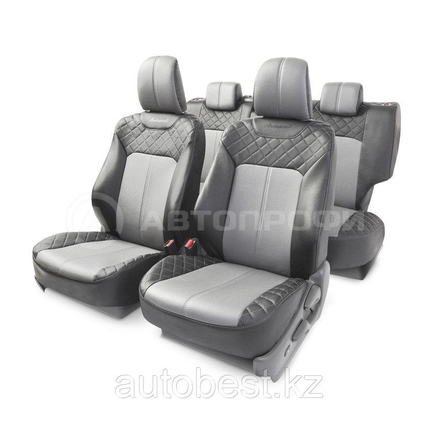 Чехлы на сиденья модельные алькантара TOYOTA Land Cruiser Prado 3 (2009+)