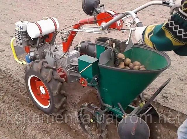 Каменская картофелесажалка для мотоблока Мотор Сич