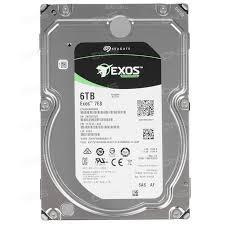 Жесткий диск внутренний Seagate Enterprise Capacity 6Тб HDD 3.5″ Для серверов SAS ST6000NM0095
