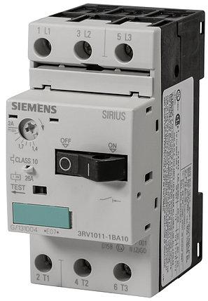 Автоматический выключатель защиты двигателя 3RV1011-1BA10 Siemens, фото 2