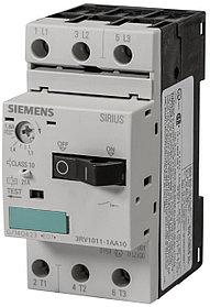 Автоматический выключатель защиты двигателя 3RV1011-1AA10 Siemens