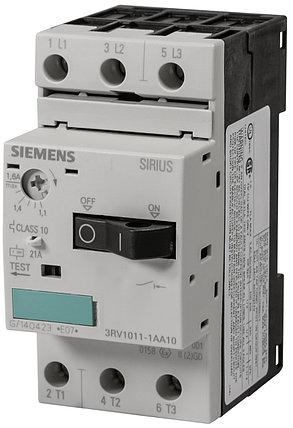 Автоматический выключатель защиты двигателя 3RV1011-1AA10 Siemens, фото 2