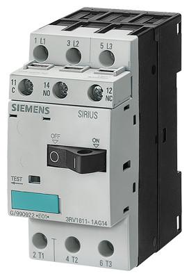 Автоматический выключатель для трансформатора 3RV1611-1CG14 Siemens