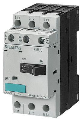 Автоматический выключатель для трансформатора 3RV1611-1CG14 Siemens, фото 2