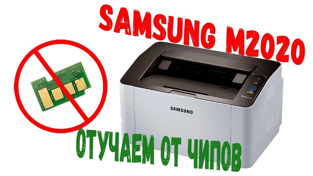 Прошивка принтера samsung m2020, m2020w в Алматы