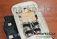 Набор посуды туристический, на 4 персоны, рюкзак, карман для термоса, холодильник