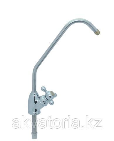 Кран чистой воды , NatureWater D-02 (Silver, барашек)
