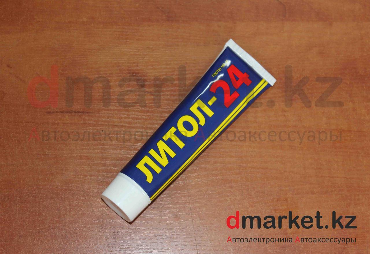 Смазка Литол-24, универсальная, антифрикционная, в тюбике, 100 г