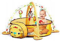 Развивающий коврик Fitch Baby Львенок+30 шаров