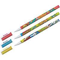 """Ручка шариковая Berlingo """"Funline. Hype"""", синяя, 0,7мм, рисунок на корпусе, ассорти 07273, фото 1"""