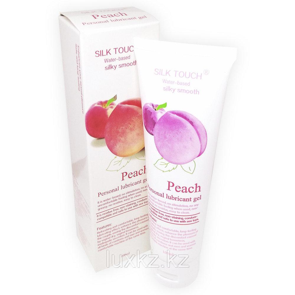 Интимный гель-смазка с запахом персика.