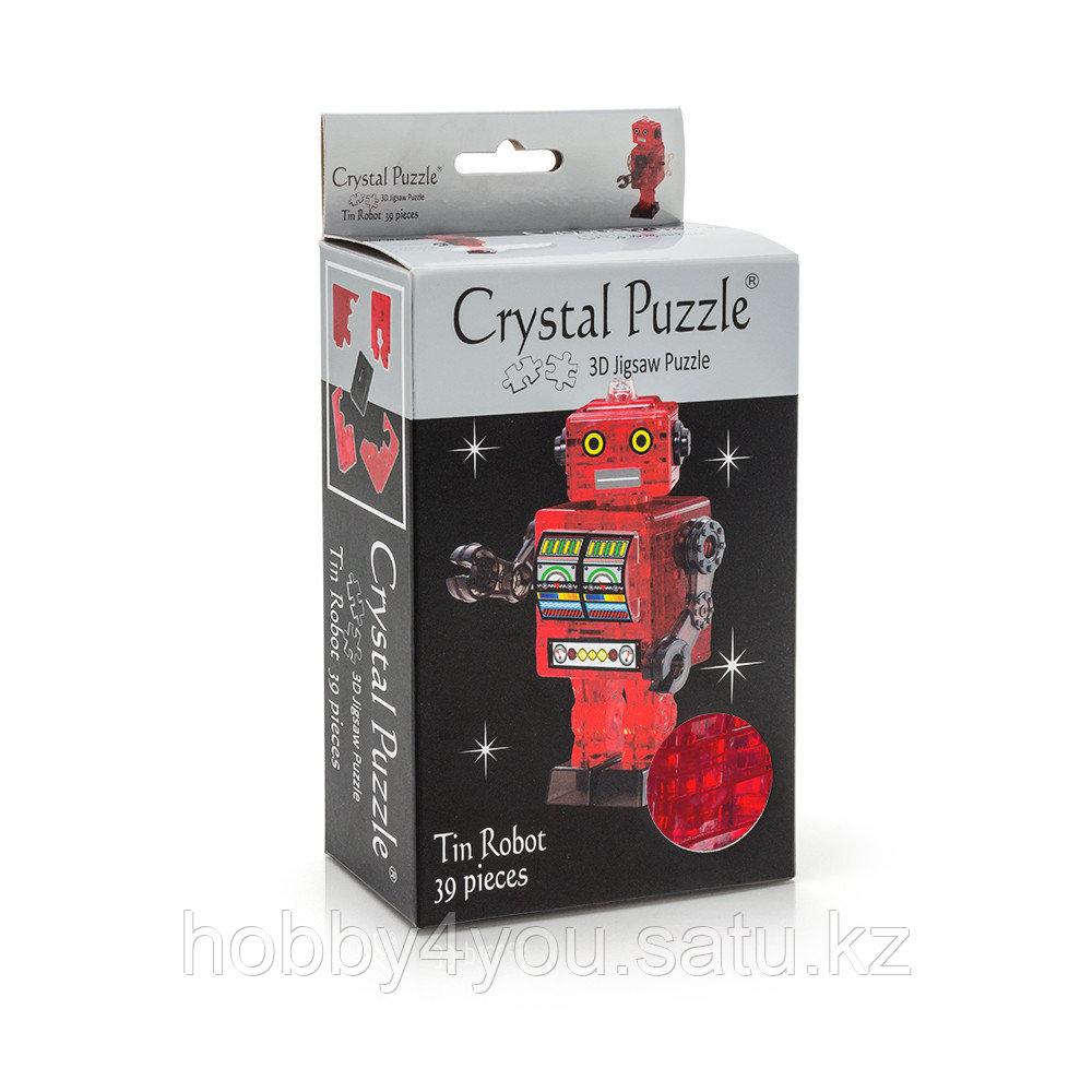 3D головоломка Робот красный