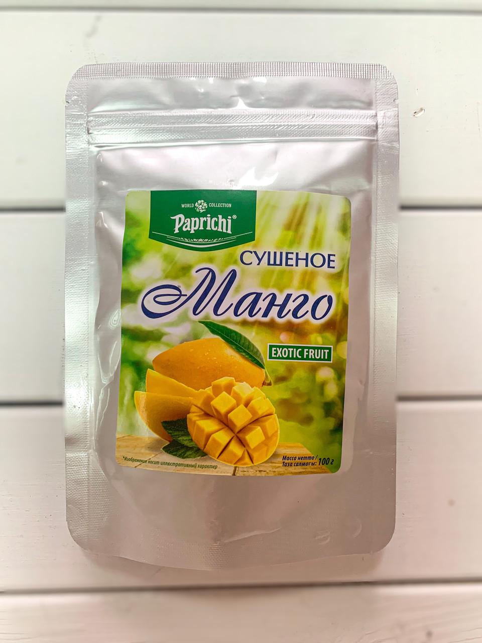 """Манго сушеное 100гр """"Paprichi"""""""