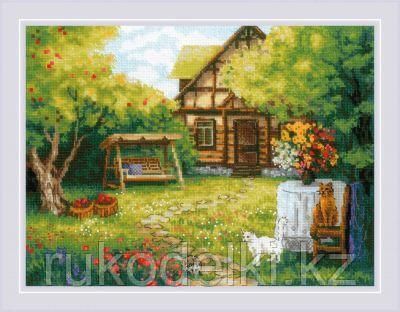 """Набор для вышивания крестом """"Загородный домик"""""""