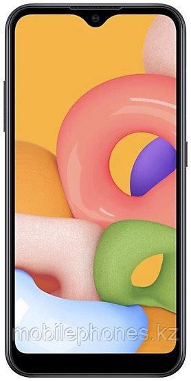 Смартфон Samsung Galaxy A01 Чёрный