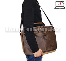 Сумка для ноутбука 15 дюймов Наплечная сумка 30 см х 40 см х 5 см Fopati bag (хаки)