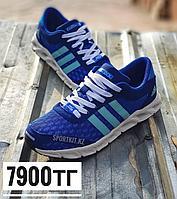 Кроссовки Adidas climacool синий с белой подошвой, фото 1