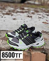 Кроссовки adidas Ax2 серо-зеленый, фото 1