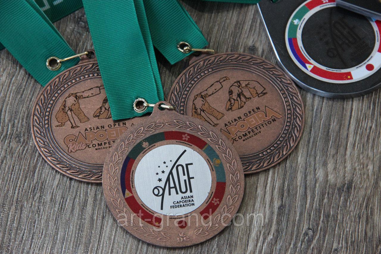 Медали с гравировкой