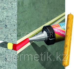 Sikaflex Construction, герметик (белый, бежевый, коричневый, серый, черный) 600мл