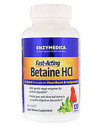 Enzymedica, Бетаин HCL, 120 капсул, фото 3