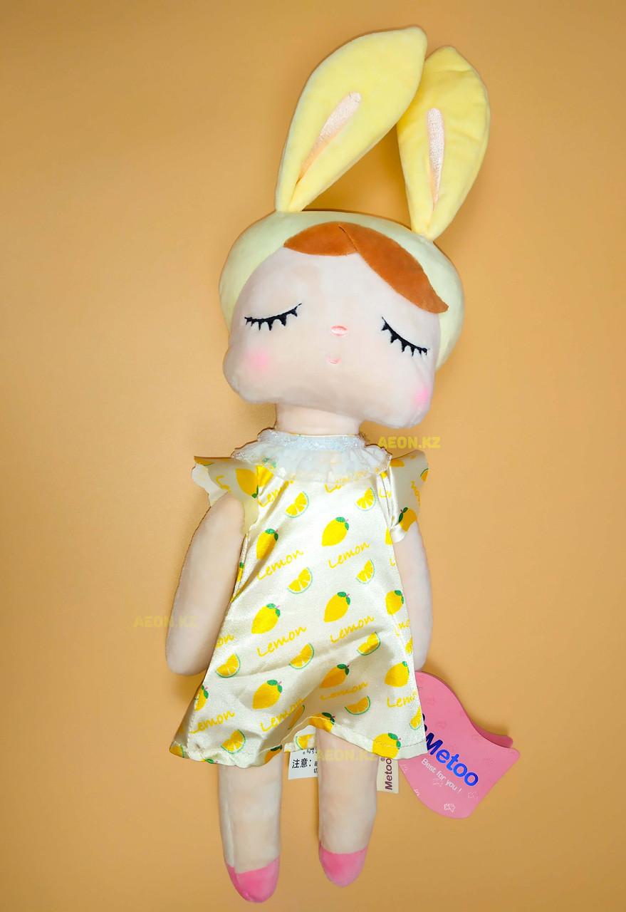 "Кукла сплюшка ""Платье лимон"""