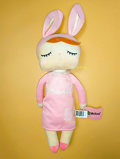 "Кукла сплюшка ""Платье pink"""