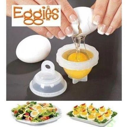 Формы для варки яиц без скорлупы Eggies, фото 2