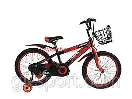 Велосипед Phoenix красный алюминиевый сплав оригинал детский с холостым ходом 20 размер