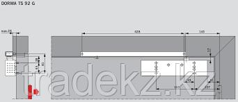 Пластина монтажная для доводчиков Dorma TS 92/93