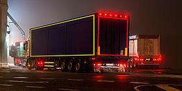 Лента светоотражающая для контурной маркировки автотранспорта ORALITE VC104+ Rigid Grade, Standard