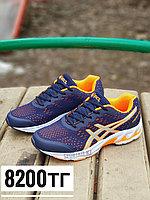 Кроссовки asics фиолетово-оранжевый, фото 1