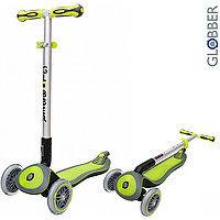 Самокат инновационный 3х-колесный Globber My FREE Up зеленый