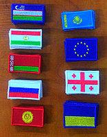 Нашивки в виде флагов