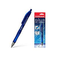 Ручка шариковая автоматическая ErichKrause MEGAPOLIS Concept (Синий)