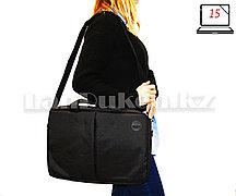 Сумка для ноутбука 15 дюймов Наплечная сумка 30 см х 41 см х 5 см Meijieluo (черная)