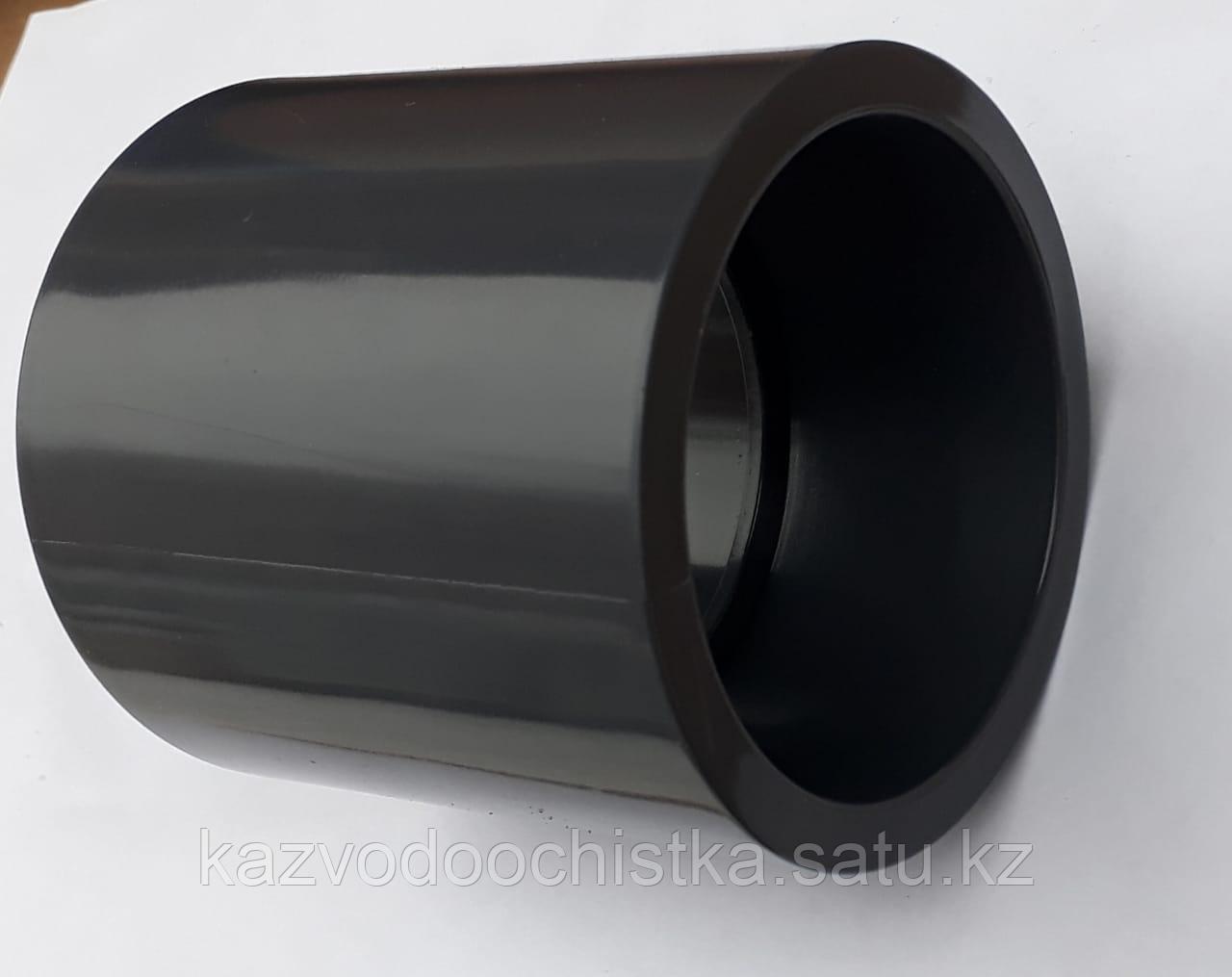 ПВХ Муфта неразъемная  (COUPLING) 63 мм.