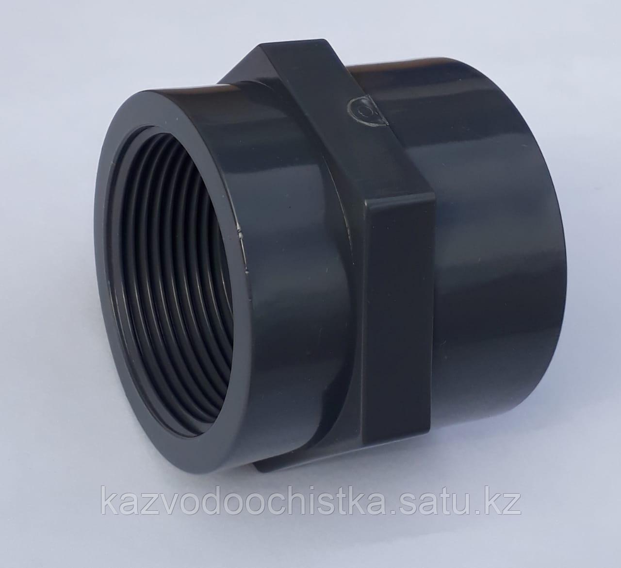 ПВХ Муфта с внутренней резьбой (FEMALE ADAPTOR) 25 мм.