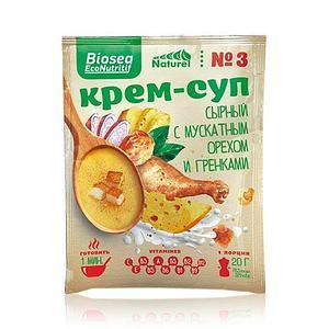 Крем-суп #3 Сырный с мускатным орехом и гренками (Франция) Biosea EcoNutritif