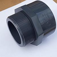 ПВХ Муфта с наружней резьбой (MALE ADAPTOR) 20 мм.