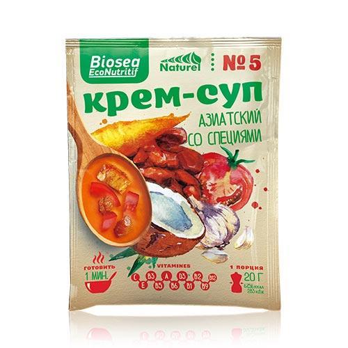 Крем-суп №5 Азиатский со специями (Франция) Biosea EcoNutritif