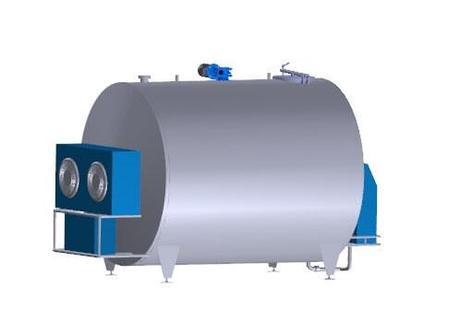 Танк-охладители молока УОМЗТ-2500 закрытого типа, фото 2