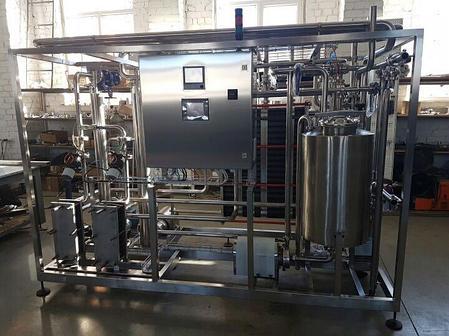 Пастеризационно-охладительная установка пластинчатая 5000 л/ч, фото 2
