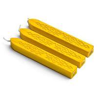Сургуч с фитилем. Цвет № 13 - желтое золото .